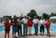 Official opening of Splash PAD